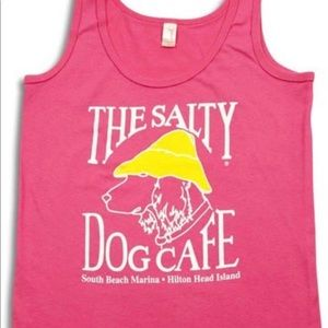 SALTY DOG CAFE Women's Tank Top In Hot Pink